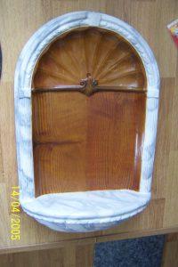 Kopie (2) van gips ornament
